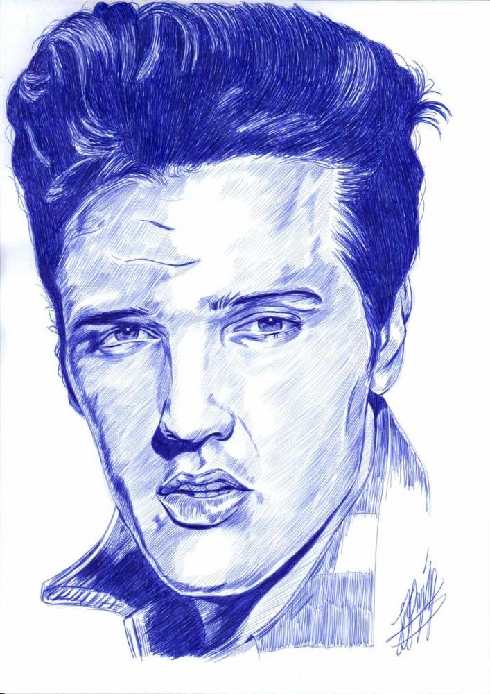 Elvis Presley by jjg2018